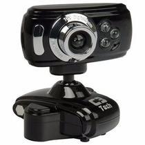 Webcam C3 Tech Usb C/ Led Visão Noturna 300k À 2.0m Wb2105