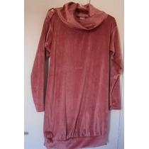 Vestido/bata/blusa Inverno. Tipo Veludo/plush. Tamanho M