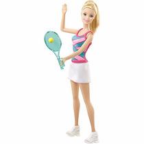 Boneca Barbie Jogadora De Tênis - Mattel Barata Promoçâo!!!