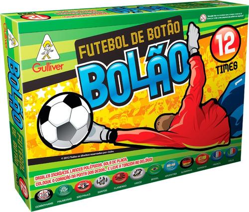 Futebol De Botão Copa Brasil Bolão Gulliver 12 Seleções f365ec4e616c9