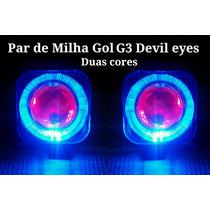 Par De Milhas Gol G3 Com Angel Eyes