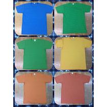 Camiseta Manga Ponta De Estoque Preço Baixo Camisa Tecidos