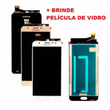 Tela Display Lcd Touch Samsung Galaxy J7 Prime G610m + Pelic