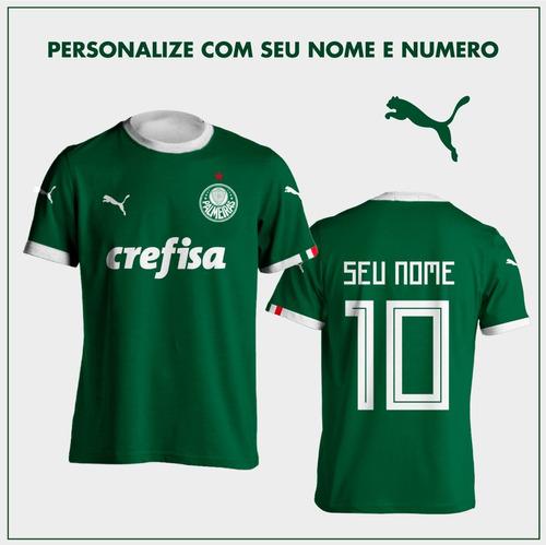 26f049b351972 Nova Camisa Palmeiras 2019 2018 Personalizada Frete Grátis