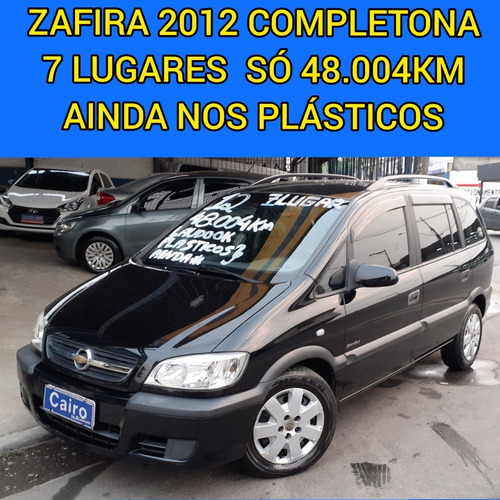 ZAFIRA FLEX 7LUGARES COMPLETA AR CONDICIONADO BAIXA KM LAUDO