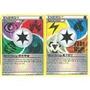 Lote 24 Cards Energia Pokemon Tcg 6 Tipos Comum E 1 Especial