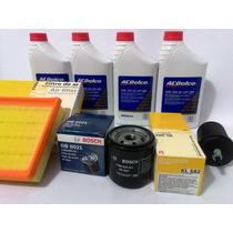 Kit Troca De Óleo Original Acdelco C/ Filtros Gm Spin Cobalt