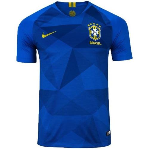 d4216b0762 Camisa Blusa Seleção Brasileira Azul 2018 Oferta Envio 24h