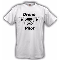 Camiseta Aeromodelismo Piloto De Drone - Branca