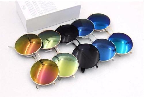 6866425bc2f72 Óculos De Sol Redondo Masculino - Feminino - Várias Cores