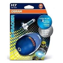 Lâmpadas Osram X Racer H7 12v Xenon 4000k Golf, Gol Gv, Moto