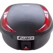 Bau Motos 40 Litros Removivel Glider Com Refletor