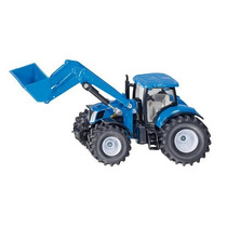 Toy Tractor Agrícola - Siku New Holland W Frontal 1:50