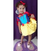 Princesa Da Disney - Fantasia Branca De Neve - Infantil B
