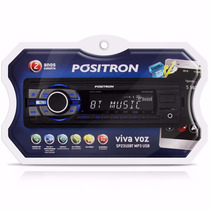 Auto Radio Positron Sp2310bt Slim Bluetooth Usb Sd Card