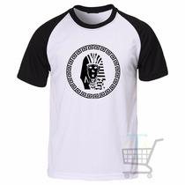 Camiseta Last Kings Raglan Manga Curta - Promoção
