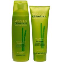 Alfaparf Midollo Di Bamboo Kit Shampoo E Máscara 250 Ml
