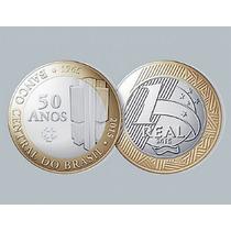 Moeda Brasil 50 Anos Banco Central Nova Lançamento