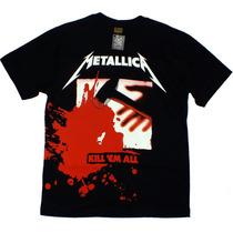 Camiseta De Banda - Metallica - Kill