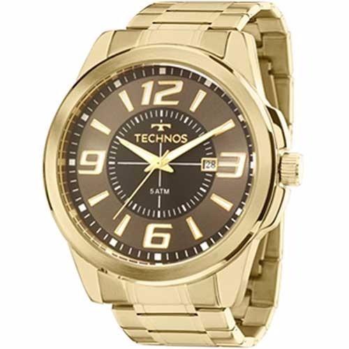 c6bf89d4287 Relógio Technos Masculino Dourado Performer - 2115laa 4c
