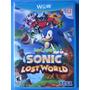 Sonic Lost World - Nintendo Wii U - Lacrado - Pronta Entrega