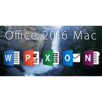 Office 2016 Para Macbook, Imac, Mac Pro, Air, Retina...