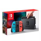 Console Nintendo Switch 32gb Colorido Novo Original Lacrado