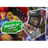 Bartop Arcade Retrô 19 Pol 41374 Jogos Malvadeza - Promoção