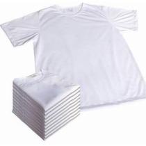 Lote 10 Camisetas Infantil Para Sublimação