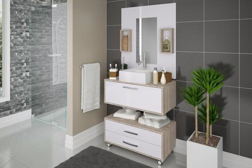Balcão De Banheiro Em Mdp Novo Com Cuba, Direto Da Fábrica! R$540 oDWP4  Pre -> Cuba Para Banheiro Direto Da Fabrica