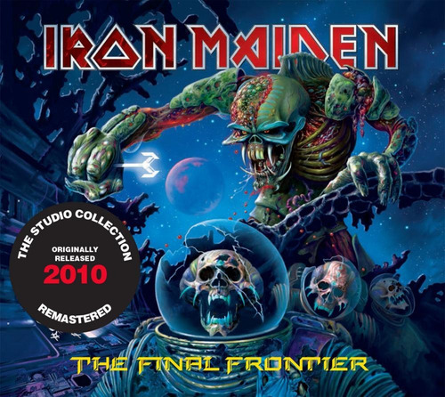 Cd Iron Maiden - The Final Frontier (2010) - Remastered