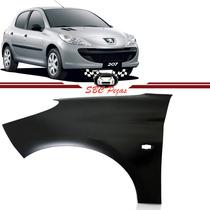 Paralama Peugeot 207 2008 2009 10 2011 2012 2013 Esquerdo