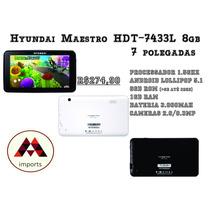 Tablet Hyundai Hdt-7433l 8gb Android 5.1 Quadcore 7 Polegada