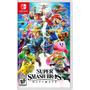 Super Smash Bros Ultimate Switch Midia Física Pronta Entrega