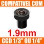 Mini Lente 1.9mm P/ Mini Camera E Micro Camera - Lente Cftv