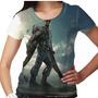 Camiseta Capitão América Falcon Feminina
