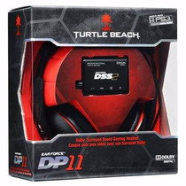 Headset Turtle Beach Ear Force Dp11 Surround Ps4 Ps3 E Pc