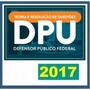 Dpu Defensor Público Da União 2017 Dvd Vídeo + Apostilas