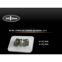 Kit 09 E 10 - Porta De Correr (blindex) - V/v E V/a