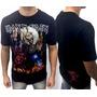Camiseta Consulado Do Rock E1072 Iron Maiden Camisa