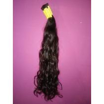 Cabelo Humano Natural P/mega Hair Leve Ondas 60 Cm 200 Grama