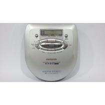 Discman Rádio Am/fm E Cd Aiwa Modelo Xp-r100