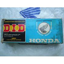 Corrente Transmissão Cg Bolinha Original Honda 78 Á 89 D.i.d
