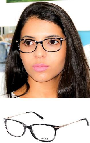 Armação Para Óculos De Grau Feminino Acetato Original 1203 R 99 ... 76d608ac3f