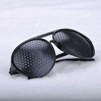 Óculos Furadinho Reticulado Aviador - Pronta Entrega -