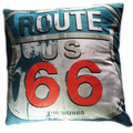 Capa De Almofada 38x38cm Route 66 0415