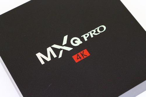 Mxq Pro Android 6.0 Marshmallow 4k Tv Box + Teclado Mouse