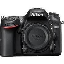 Câmera Dslr Nikon D7200 Corpo 24.2mp Full Hd Wifi