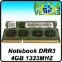 Memória Para Notebook 4gb Ddr3 1333mhz Adata