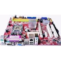 Placa Mãe Lga 775 Chipset Intel Suporta Core2 Quad Ddr2